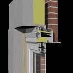 Doorsnede Multiwindow alleen ventilatie